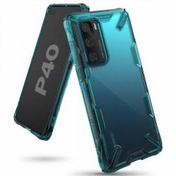 Ringke Fusion X Huawei P40 Hülle turquoise green