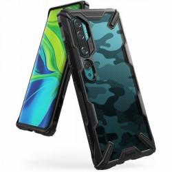 Ringke Fusion X Xiaomi Mi Note 10 / 10 Pro Hülle camo schwarz