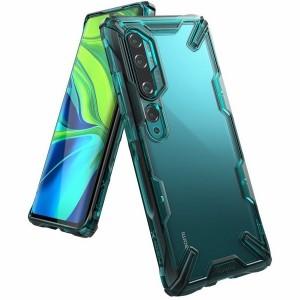 Ringke Fusion X Xiaomi Mi Note 10 / 10 Pro Hülle turquoise green