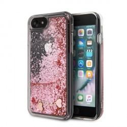 Guess Glitter Hearts Hülle iPhone SE 2020 / 8 / 7 pink GUHCI8GLHRERG