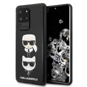 Karl Lagerfeld Karl & Choupette Hülle Samsung Galaxy S20  Ultra schwarz KLHCS69KICKC
