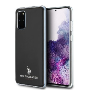 US Polo Hülle Samsung Galaxy S20+ Plus Glänzend schwarz USHCS67TPUBK