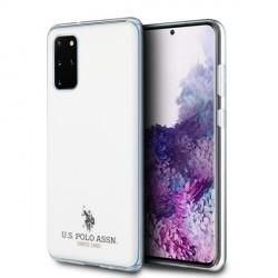 US Polo Hülle Samsung Galaxy S20+ Plus Glänzend weiß USHCS67TPUWH