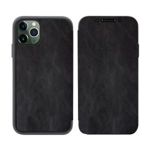 Tasche PU Leder Book iPhone 11 Pro schwarz
