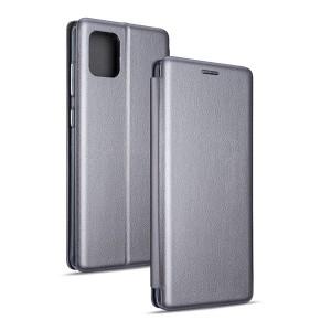 Magnetic Handytasche Samsung Galaxy Note 10 Lite N770 / A81 silber