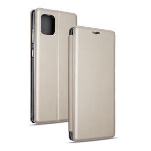 Magnetic Handytasche Samsung Galaxy Note 10 Lite N770 / A81 gold
