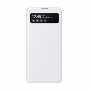 Original Samsung EF-EA415PW A41 A415 S View Wallet Cover weiß