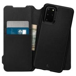 Spigen Ciel Wallet Samsung S20+ Tasche 2in1 Book Case Cover Hülle Schwarz