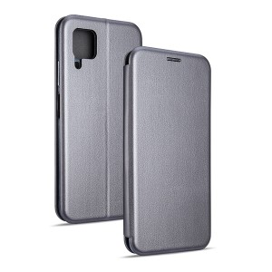 Magnetic Handytasche Huawei P40 Lite silber
