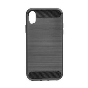Carbon / Aluminium Design Hülle Huawei P40 Lite schwarz