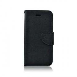 Handytasche Fancy Huawei P40 Lite Schwarz