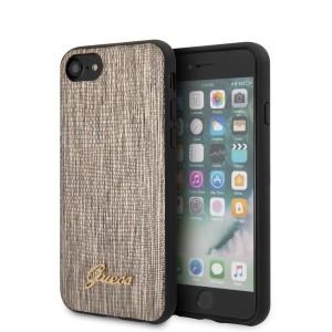 Guess SE 2020 / iPhone 8 / 7 Hülle Lizard Kollektion Gold