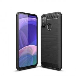 Tech-Protect Carbon Hülle Samsung Galaxy M215 M21 schwarz