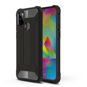 Xarmor Tech-Protect Hybrid Hülle Samsung Galaxy M215 M21 schwarz