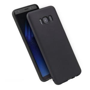 Candy Silikon Hülle / Case Huawei P40 Lite schwarz