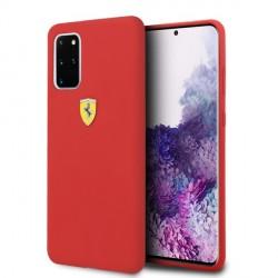 Ferrari Hülle Samsung Galaxy S20+ Plus Silicone Rot FESSIHCS67RE