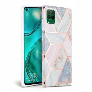 Marble Tech-Protect Hülle Huawei P40 Lite Rose