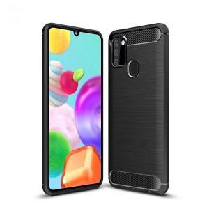 Tech-Protect Carbon Hülle Samsung Galaxy A217 A21s schwarz