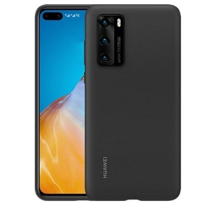 Original Huawei Silicone Case / Hülle P40 Pro schwarz