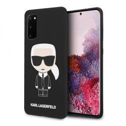 Karl Lagerfeld Samsung Galaxy S20 Hülle Iconic schwarz KLHCS62SLFKBK
