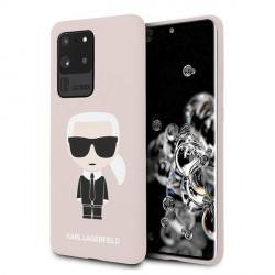 Karl Lagerfeld Samsung Galaxy S20 Ultra Hülle Karl Iconic Innenfutter Rose