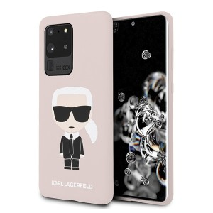 Karl Lagerfeld Samsung Galaxy S20 Ultra Hülle Karl Iconic Innenfutter Rose