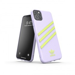Adidas OR Moudled Case Woman Hülle iPhone 11 Pro Max purple