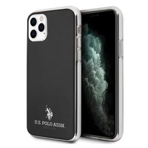 US Polo Hülle iPhone 11 Pro Shiny schwarz USHCN58TPUBK