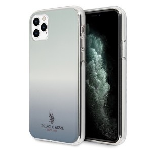 US Polo Hülle iPhone 11 Pro Gradient Pattern blau USHCN58TRDGLB