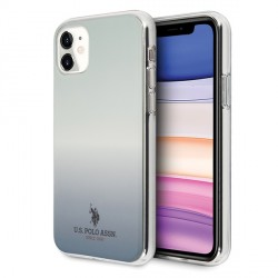 US Polo Hülle iPhone 11 Gradient Pattern blau USHCN61TRDGLB
