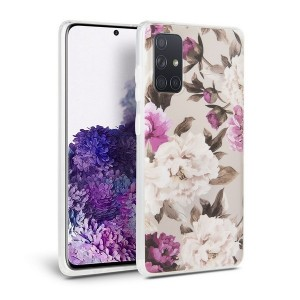 Tech-Protect Hülle Samsung Galaxy A415 A41 Floral beige
