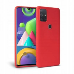 Icon Tech-Protect Hülle Samsung Galaxy M215 M21 rot