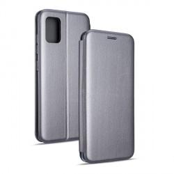 Magnetic Handytasche Samsung Galaxy A31 A315 silber