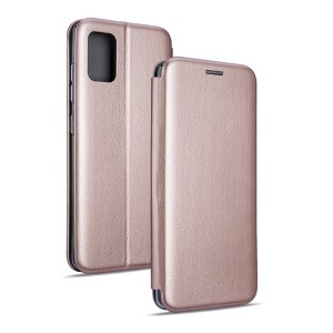 Magnetic Handytasche Samsung Galaxy A21 A215 rose gold