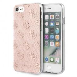 Guess Guess 4G Glitter Hülle iPhone SE 2020 / 8 / 7 pink GUHCI8PCU4GLPI