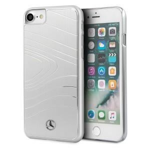 Mercedes iPhone SE 2020 / iPhone 8 / 7 Aluminium Hülle silver MEHCI8OLBRSI