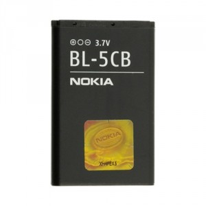 Original Nokia Akku BL-5CB 1616 / 1800 / C1-02 / 101 / X2-05 800mAh