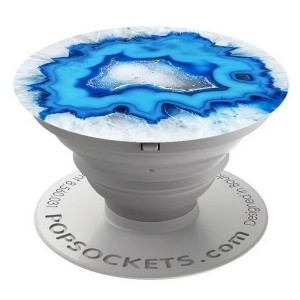 Popsockets Ice Blue Agate 101447 Stand / Grip / Halter