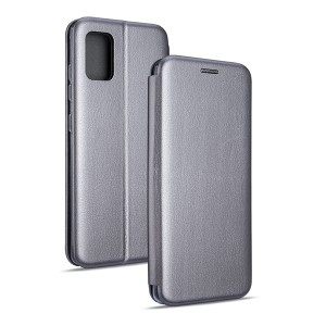 Magnetic Handytasche Samsung A20s A207 grau