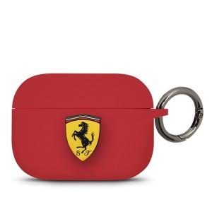 Ferrari Silicone Schutzhülle / Cover AirPods Pro Rot FEACAPSILGLRE