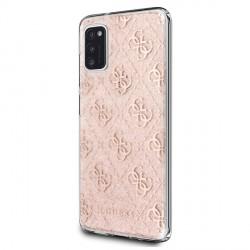 Guess 4G Glitter Hülle Samsung Galaxy A41 A415 4G Glitter Pink GUHCA41PCU4GLPI
