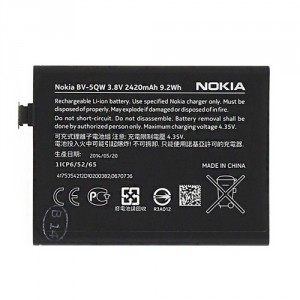 Original Nokia Akku BV-5QW Lumia 930 2420mAh