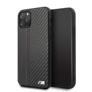 BMW M iPhone 11 Pro Hülle Leder / Carbon BMHCN58MCARBK