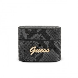Guess AirPods Pro Cover / Case / Hülle Python Muster schwarz