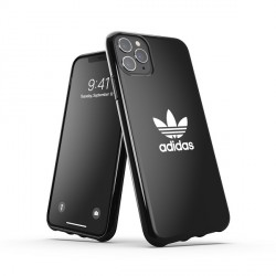 Adidas OR SnapCase Trefoil Hülle iPhone 11 Pro Max schwarz
