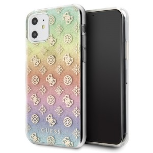 Guess iPhone 11 Hülle 4G Peony Multicolor GUHCN61PEOML