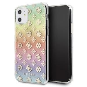 Guess iPhone 11 Hülle 4G Peony Multicolor GUHCN61PEOML
