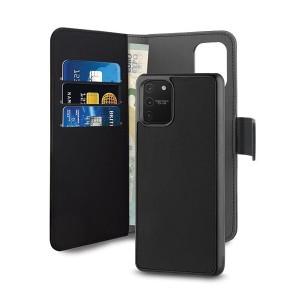 Puro Samsung S10 Lite G770 Wallet Book Handytasche + Hülle 2in1 Schwarz