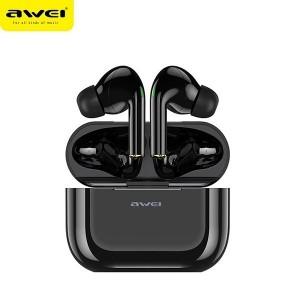 AWEI Bluetooth Kopfhörer 5.0 T29 TWS + Ladestation schwarz