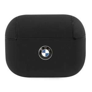 BMW AirPods Pro Echtleder Cover schwarz BMAPCSLBK
